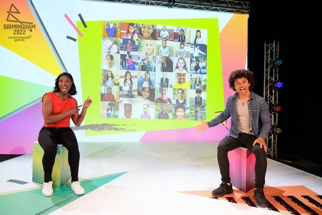 Olympic and Commonwealth gold medallist Denise Lewis OBE and TV presenter Radzi Chinyanganya launch the competition after hosting the world's first Virtual Mascot Summit