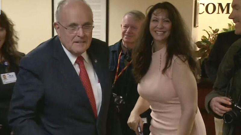 Rudy Giuliani's Estranged Wife Alleges He Had Affair With Married Woman