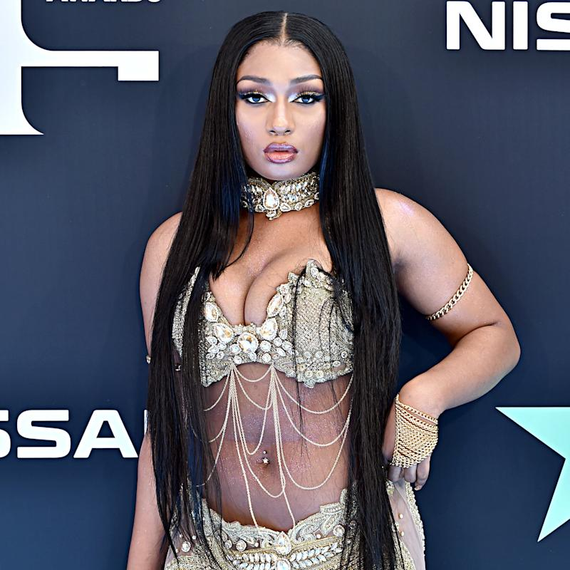 LOS ANGELES, CALIFORNIA - JUNE 23: Megan Thee Stallion attends the 2019 BET Awards on June 23, 2019 in Los Angeles, California. (Photo by Aaron J. Thornton/Getty Images for BET)