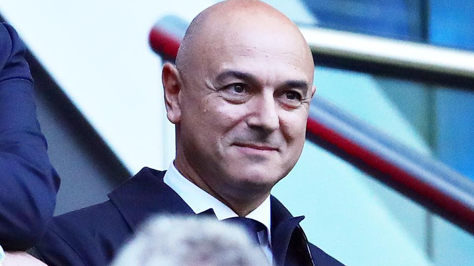 Daniel Levy, pictured here during the Champions League semi-final between Ajax and Tottenham in 2019.
