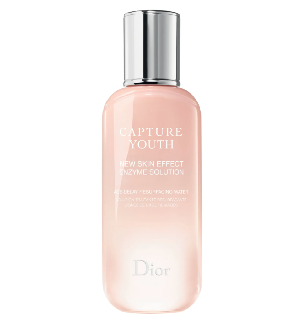 Dior Capture Youth New Skin Effect Enzyme Solution Age-Delay Resurfacing Water. Image via Nordstrom.