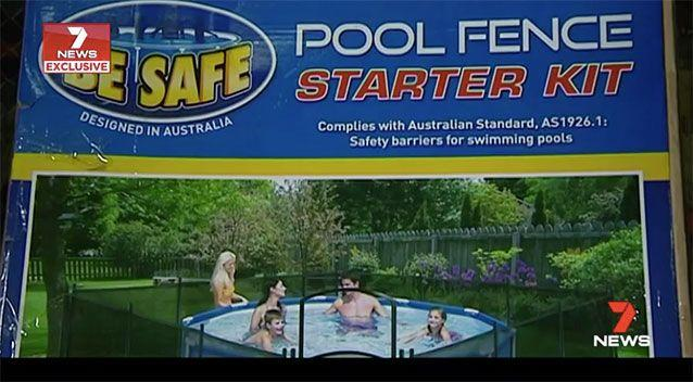 According to Choice, the Be Safe Clark Rubber portable pool fence is dangerous, however the supplier disagrees. Source: 7 News