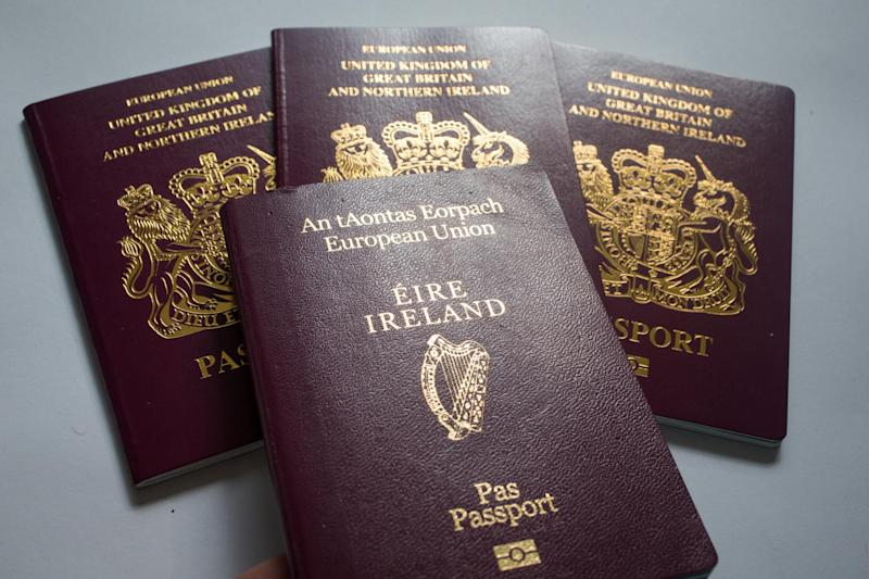 Applications from Brits for Irish passports have surged since Brexit: Getty Images