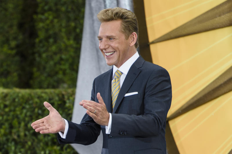 David Miscavige dedicates a new church Nov. 19, 2016, in San Diego, California. (Handout via Getty Images)