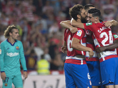 LaLiga: Barcelona's poor start continues with surprise defeat against Granada; Celta Vigo hold Atletico Madrid to goalless draw