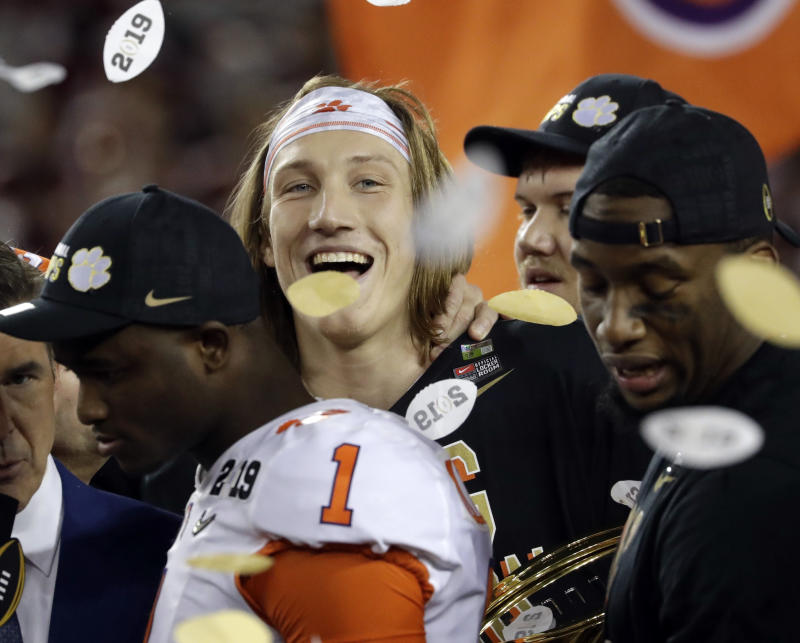 How Clemson's Trevor Lawrence Won It All As A Freshman