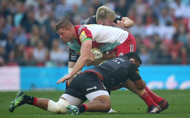 Mako Vunipola has picked up an injury - Getty Images Europe