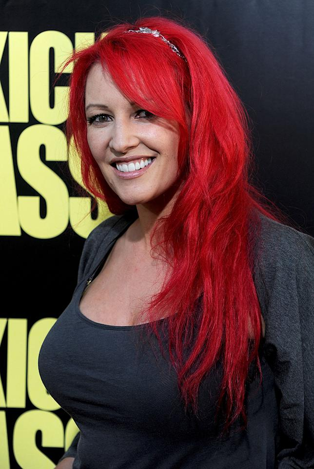 """<a href=""""http://movies.yahoo.com/movie/contributor/1809683033"""">Jane Goldman</a> at the Los Angeles premiere of <a href=""""http://movies.yahoo.com/movie/1810063108/info"""">Kick-Ass</a> - 04/13/2010"""