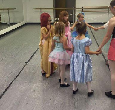 Her proud dance instructor, Grayson Lamontagne , uploaded several images of Ainsley on social media. Source: Grayson Lamontagne/ Twitter.