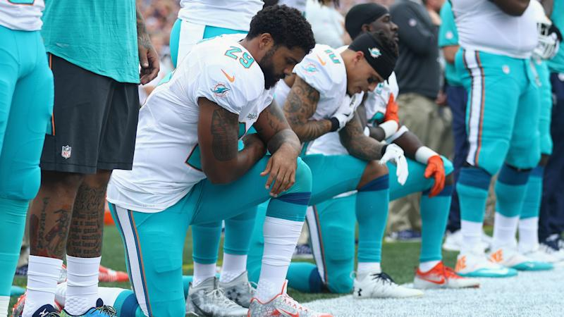 Dolphins owner Stephen Ross supported players' choice to kneel for anthem