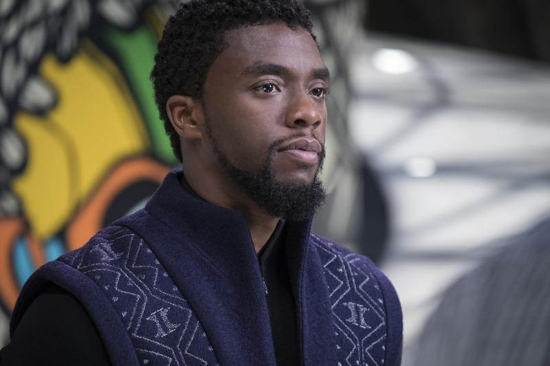 "Chadwick Boseman stars in ""Black Panther."" (Open Road FIlms)"