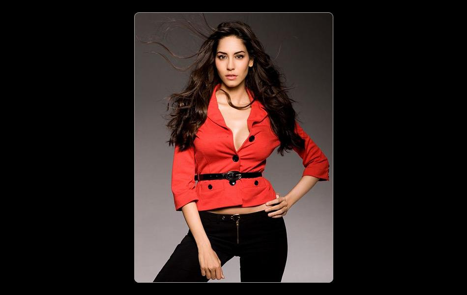 2012 Kingfisher model Malika Haydon is debuting in Bollywood with 'I'll do the talking' from 'Agent Vinod'.