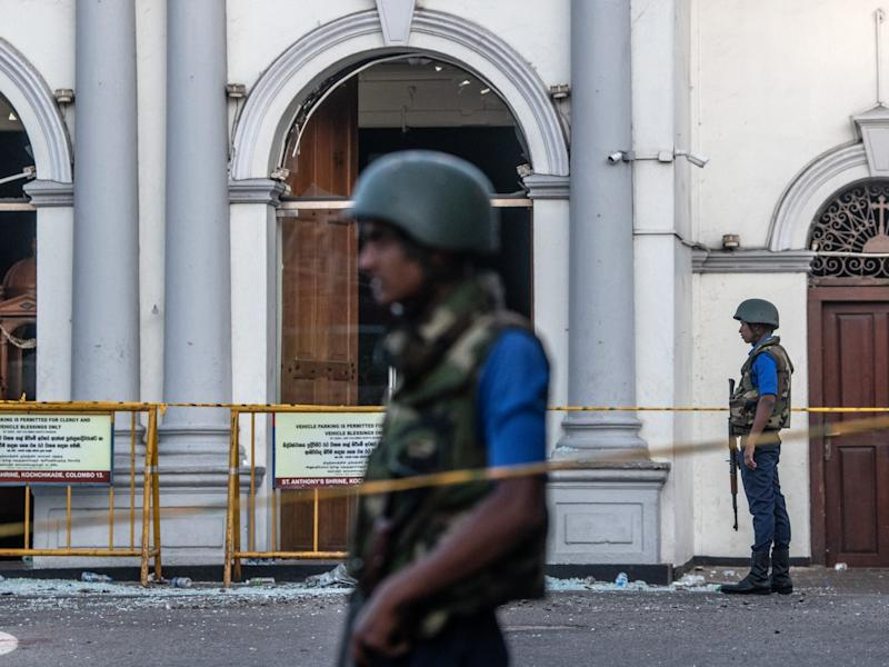 Sri Lanka minister claims church bombings were 'retaliation for Christchurch mosque shootings'