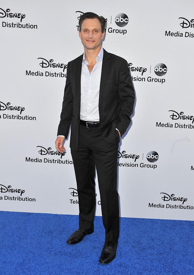 BURBANK, CA - MAY 19:  Tony Goldwyn arrives at the Disney Media Networks International Upfronts at Walt Disney Studios on May 19, 2013 in Burbank, California.  (Photo by Angela Weiss/Getty Images)