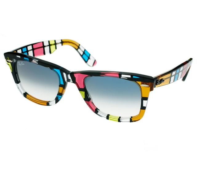 Multi-coloured Raybans from Asos.com
