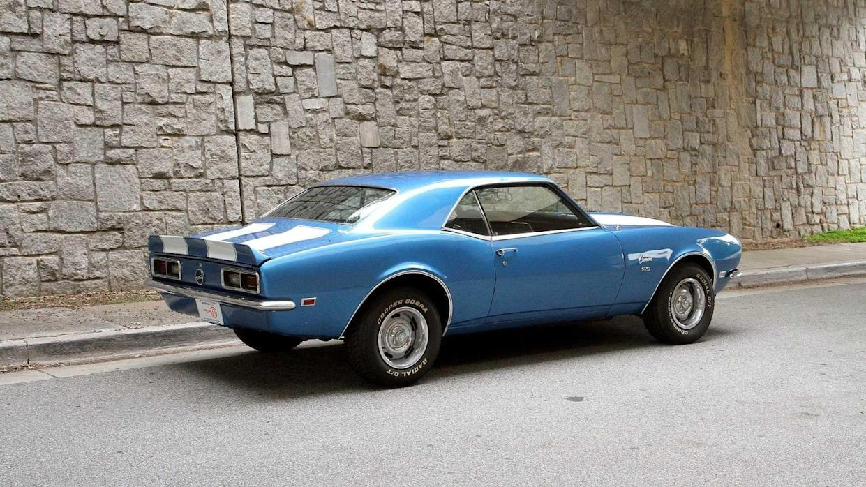 Cure The Blues With This 1968 Chevrolet Camaro In LeMans