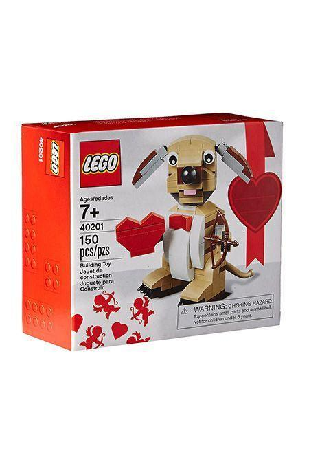 "<p><strong>LEGO</strong></p><p>amazon.com</p><p><strong>$34.97</strong></p><p><a href=""https://www.amazon.com/dp/B019VRTJYU?tag=syn-yahoo-20&ascsubtag=%5Bartid%7C10055.g.4987%5Bsrc%7Cyahoo-us"" rel=""nofollow noopener"" target=""_blank"" data-ylk=""slk:Shop Now"" class=""link rapid-noclick-resp"">Shop Now</a></p><p>Even he can admit that this puppy holding a bow and arrow is adorable. This set is 145 pieces, and, when it's built, it stands more than 3"" tall. <em>Ages 7+</em></p>"