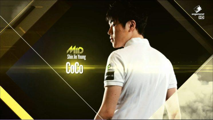 Coco is a mid laner for Newbee Gaming (OGN)