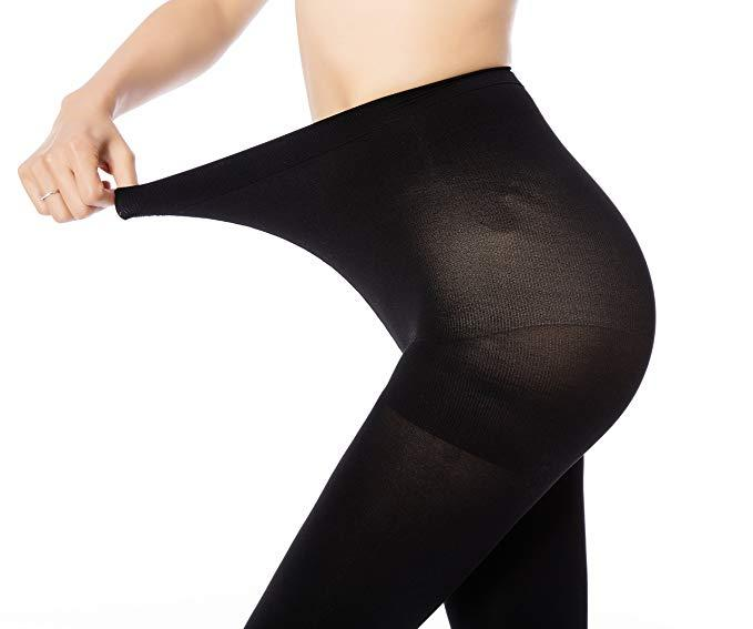 Women's 70 denier control top tights, £7.99 - £20.99 [Photo: Amazon]