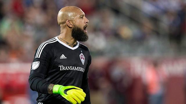 The Colorado Rapids goalkeeper was suspended by Major League Soccer following an interaction with a fan in Kansas City earlier this month