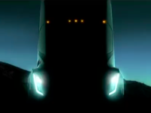 Elon Musk says 'unreal' Tesla semi truck set for October unveiling