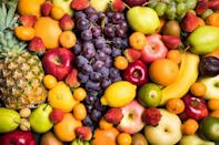 """<p>Fruit didn't start to get a bad name until the keto diet took over. Now, it seems like people are avoiding it more and more, and Wandzilak says there's no reason for that. """"The facts are that fruit is filled with water, nutrients, and fiber that keep us hydrated and feeling great,"""" she says. If you want to get your daily dose of fruit in, go for whole, fresh fruits instead of juice or something dried. </p>"""