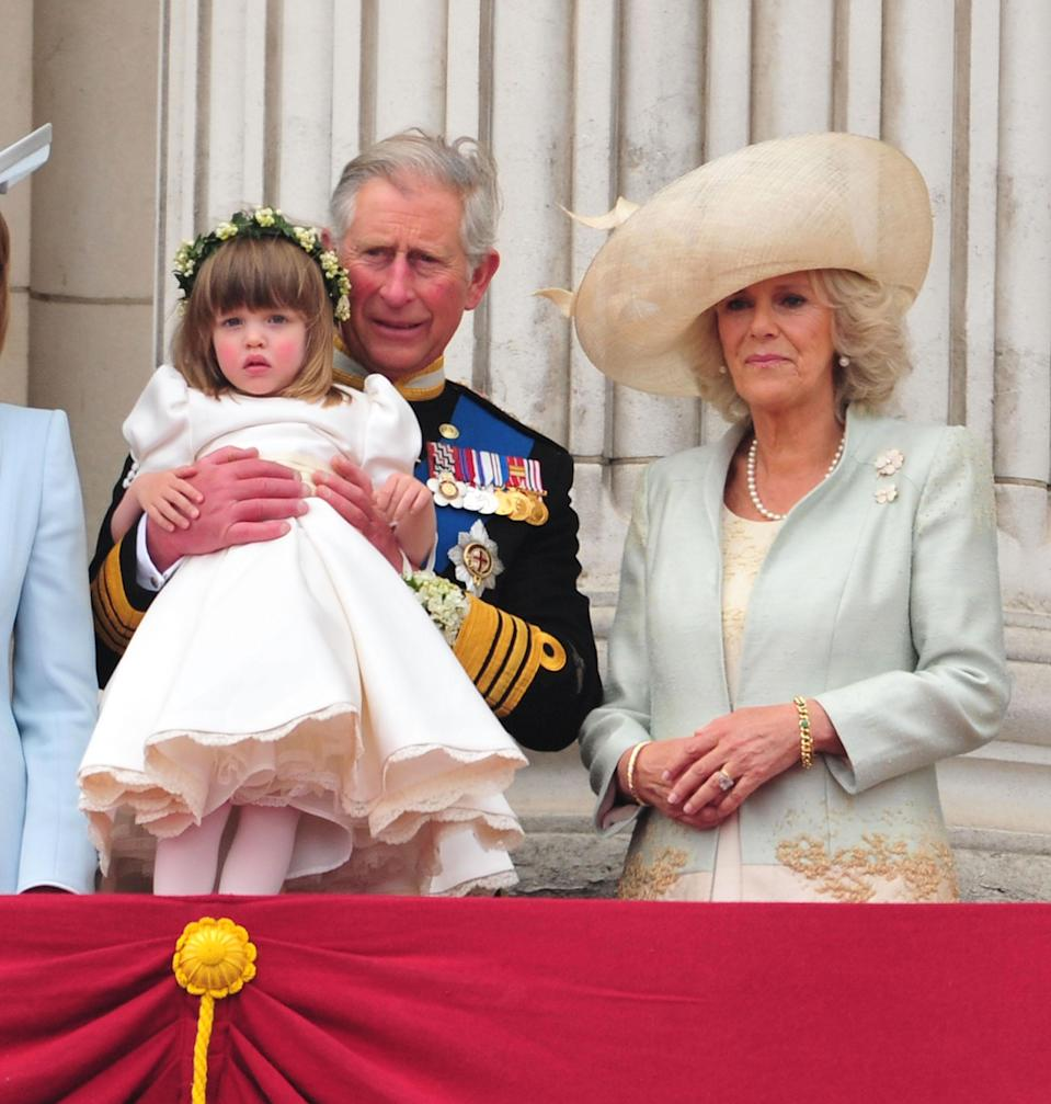 While she didn't mention her by name, it's thought Camilla was speaking about her nine-year-old granddaughter Eliza Lopes (pictured here in 2011 at Kate Middleton and Prince William's wedding). Photo: Getty Images