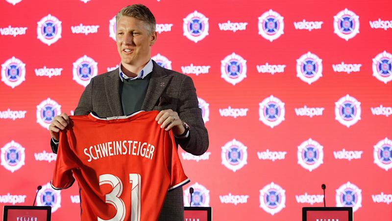 VIDEO: Bastian Schweinsteiger scores in MLS debut