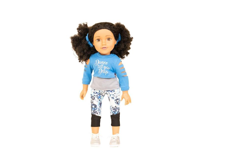 """<p>Sisi the dancing doll has a soft body and is great to hug, but can also raise her arms and legs in lifelike positions. She also comes with a silver Design A Friend charm bracelet. </p><p><a class=""""link rapid-noclick-resp"""" href=""""https://go.redirectingat.com?id=127X1599956&url=https%3A%2F%2Fwww.argos.co.uk%2Fproduct%2F8297523&sref=https%3A%2F%2Fwww.housebeautiful.com%2Fuk%2Flifestyle%2Fshopping%2Fg33533336%2Fargos-christmas-toys-2020%2F"""" rel=""""nofollow noopener"""" target=""""_blank"""" data-ylk=""""slk:BUY NOW VIA ARGOS"""">BUY NOW VIA ARGOS</a></p>"""