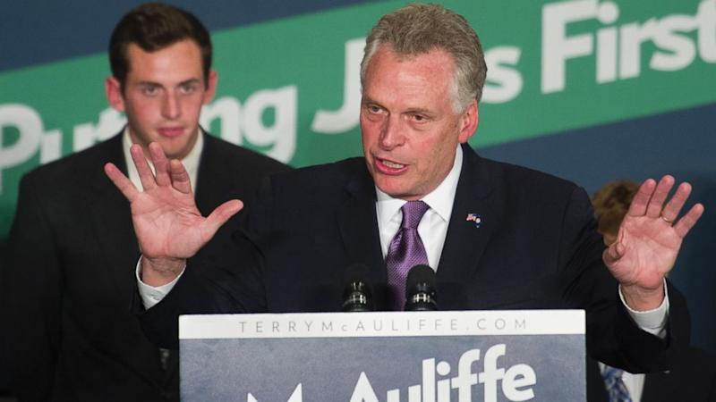 Democrat Terry McAuliffe Wins Virginia Governor Race, AP Projects