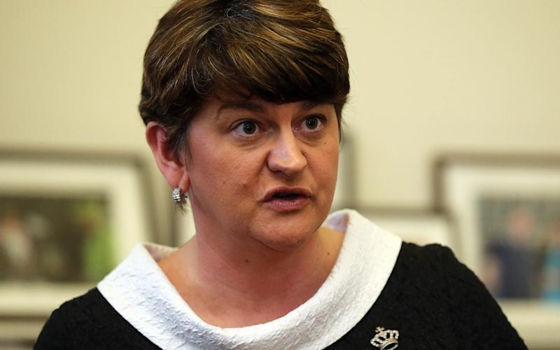 Former first minister Arlene Foster - Credit: PA