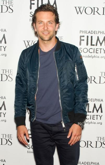 Bradley Cooper attends 'The Words' premiere at the Prince Music Theater in Philadelphia on August 27, 2012 -- Getty Premium