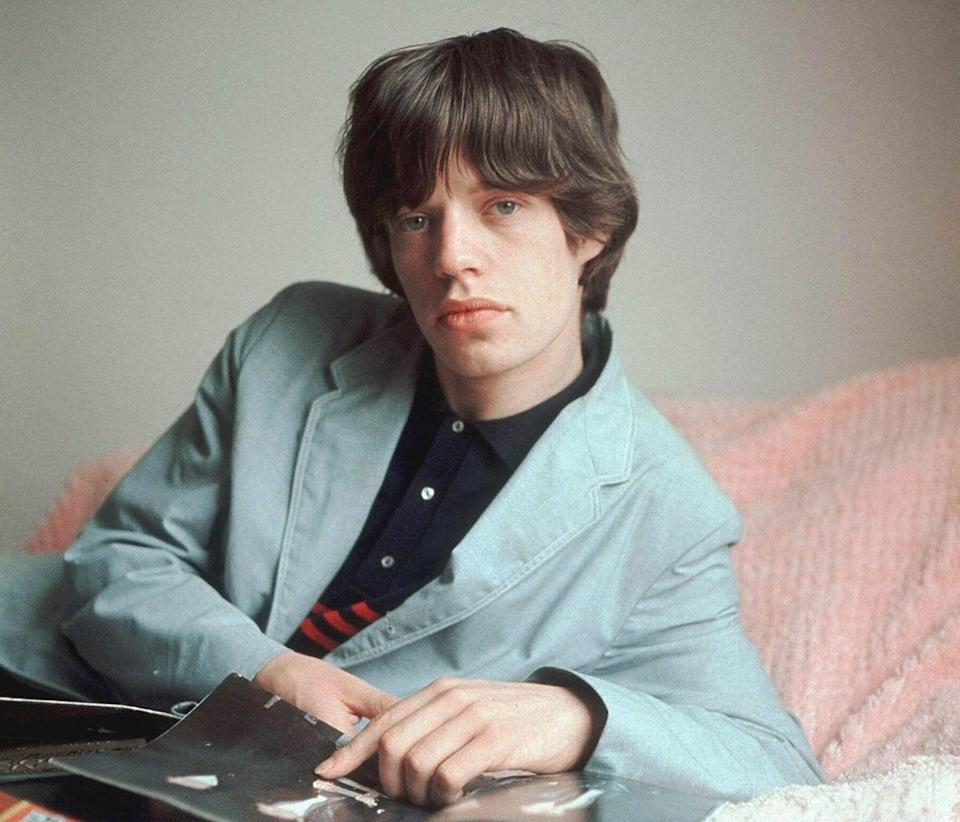 <p>A portrait of Rolling Stones singer Mick Jagger, London, 1964</p>