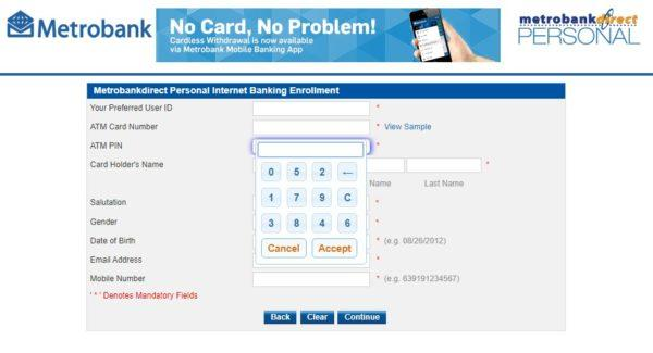 Metrobank Direct Online: Everything You Need to Know - metrobank direct atm pin