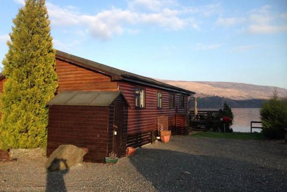 Loch Lomond log cabin