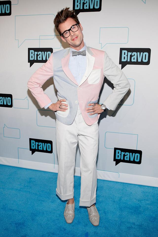 Brad Goreski attends Bravo's 2012 Upfront Event at Center 548 on April 4, 2012 in New York City.