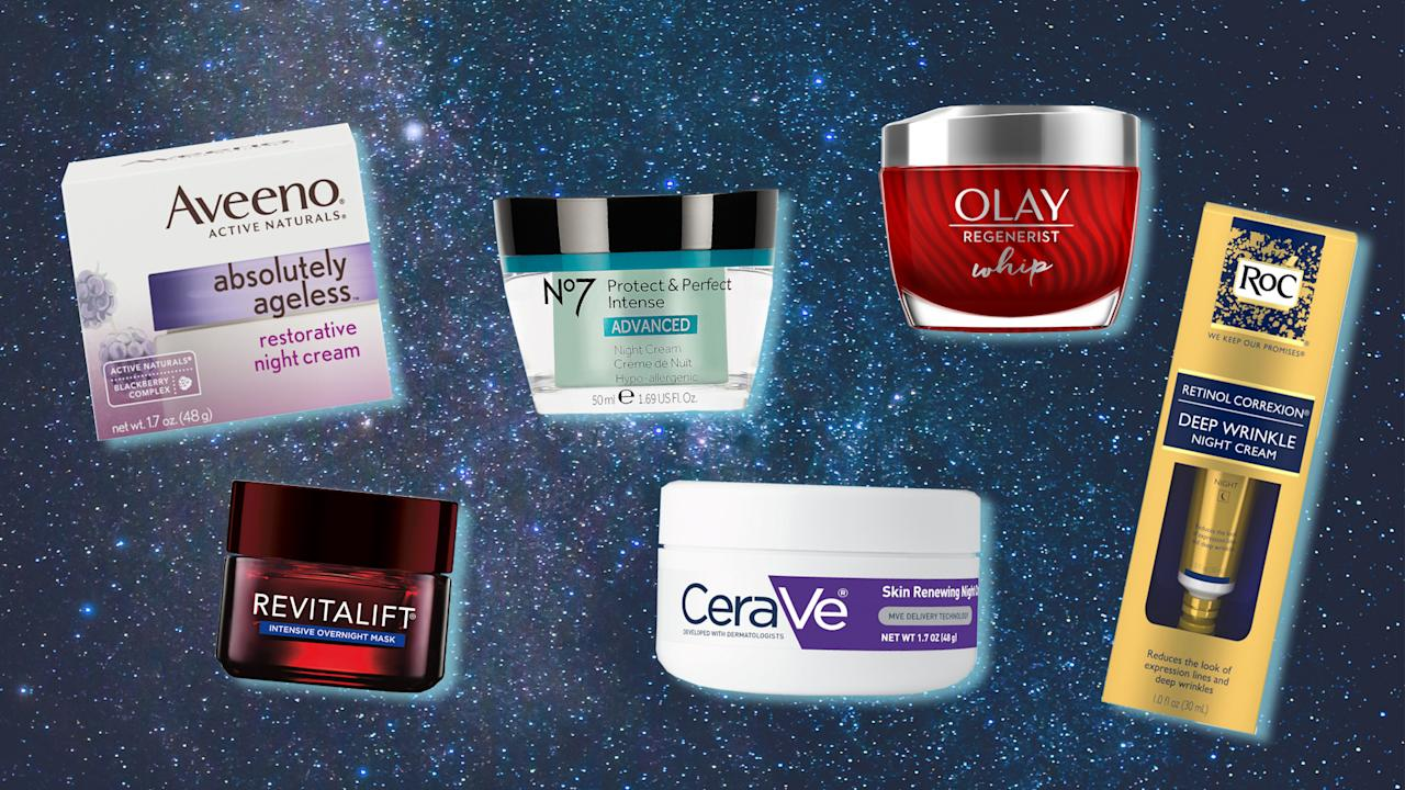 <p>Wake up to gorgeous skin! These affordable night creams work their magic while you sleep.<br /><em>Yahoo Lifestyle may receive a share from purchases made via links on this page.</em><br />(Photo: Getty Images; Yahoo Lifestyle) </p>