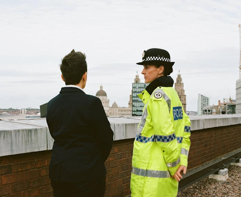 """""""People are coming into the organisation now out and open"""": Police Detective ConstableTracy O'Hara (left) insistsit is completely unacceptable to be homophobic, biphobic or transphobic within the police. (Photo: STUDIOGRABDOWN for HuffPost)"""