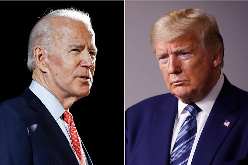 Joe Biden wishes Donald Trump a 'swift recovery' and says he is 'praying' for him and Melania