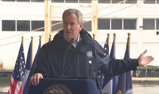 NYC mayor orders 500 staff, including himself, to take unpaid leave as budget crisis worsens