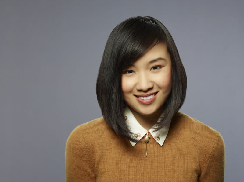 "Ellen Wong as Mouse in ""The Carrie Diaries."""