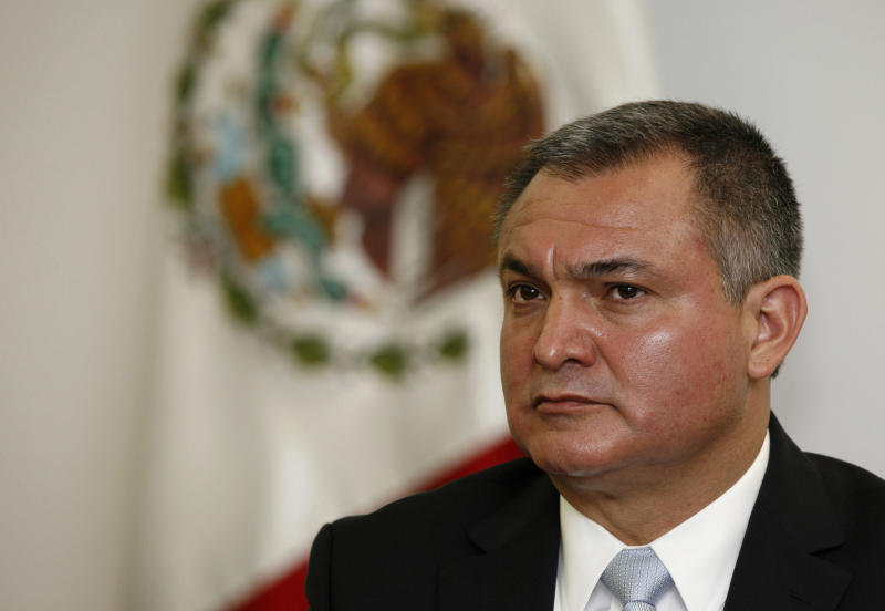 Mexican Security Chief Indicted