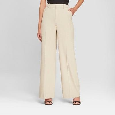 <p>Meet your new wardrobe staple: The <span>A New Day Wide Leg Bi-Stretch Twill Pants</span> ($25).</p>