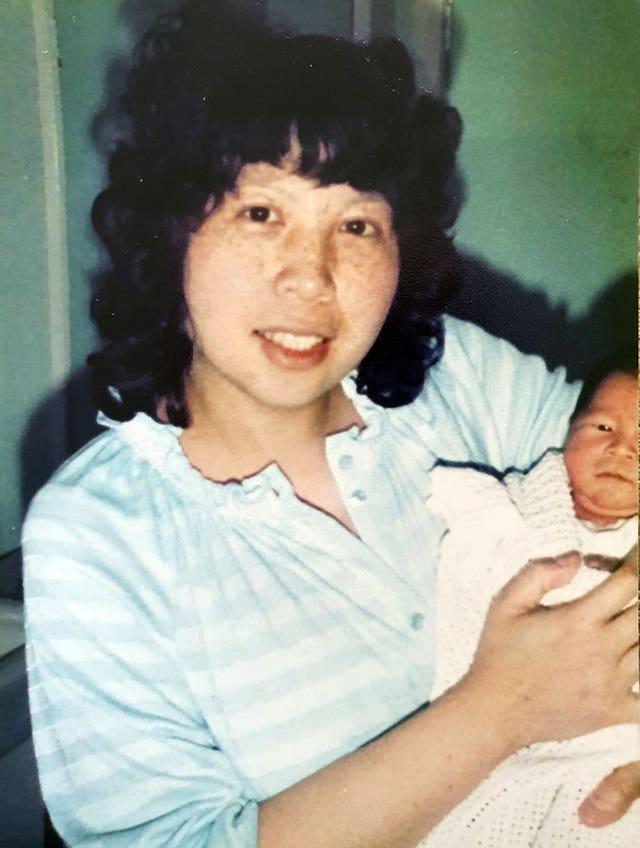 Alice Ong with her daughter Melissa, who is now 36