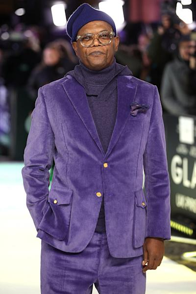 Samuel L. Jackson Talks Past Drug Addiction