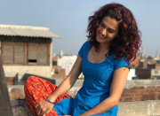 If Tapsee Pannu's performance in Manmarziyaan is to be described in one word, it's electrifying. As Rumi, the mercurial, red-haired Amritsar girl who loves as fiercely and she fumes, Tapsee is a treat to watch and turns the woman-conflicted-about-two-men trope into a relatable and emotionally rich portrayal.