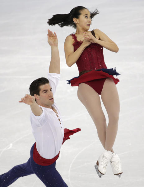 16 Dazzling GIFs of Figure Skating Pairs at the Winter Olympics