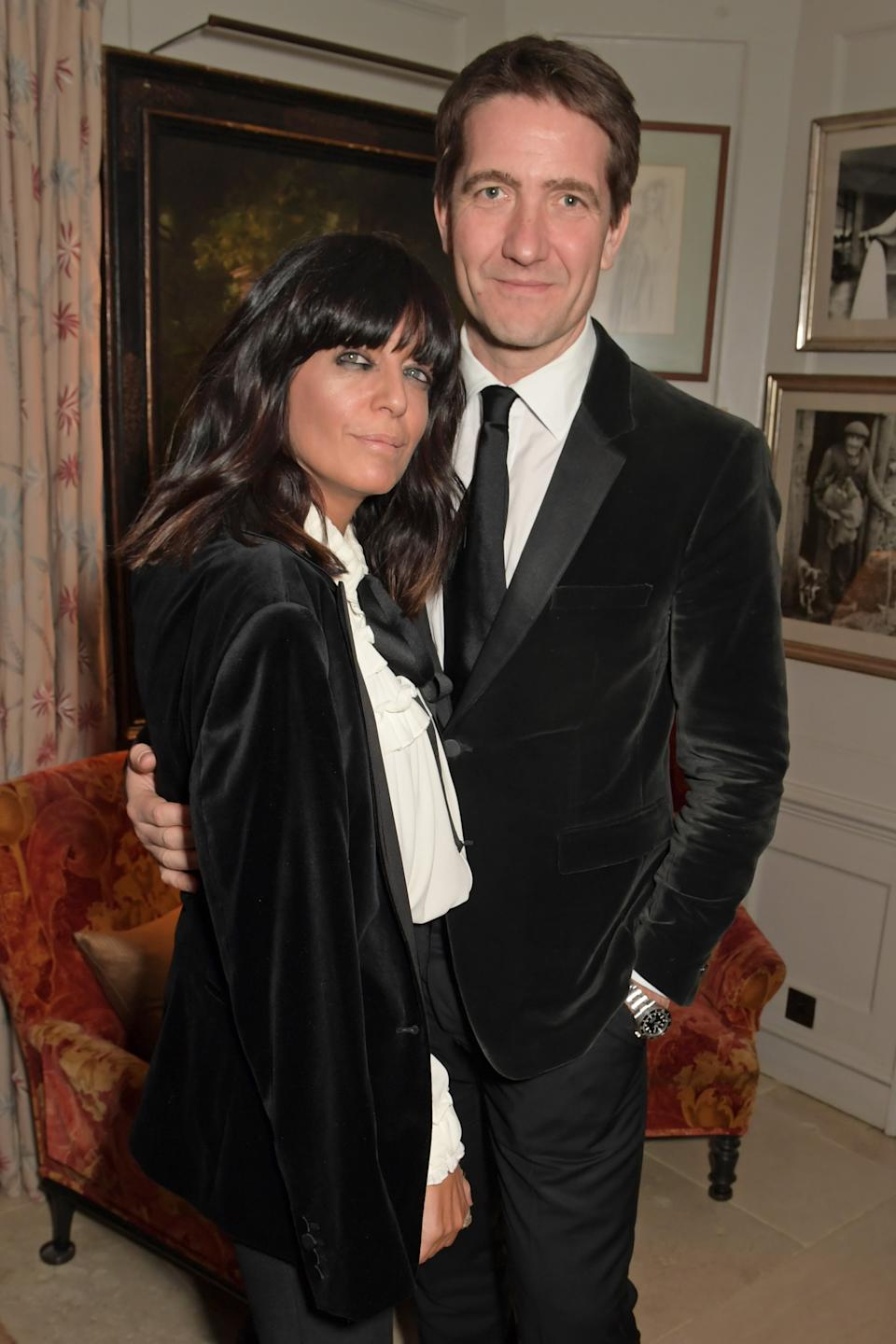 The presenter married film producer Kris Thykier in 2000. (Getty Images)
