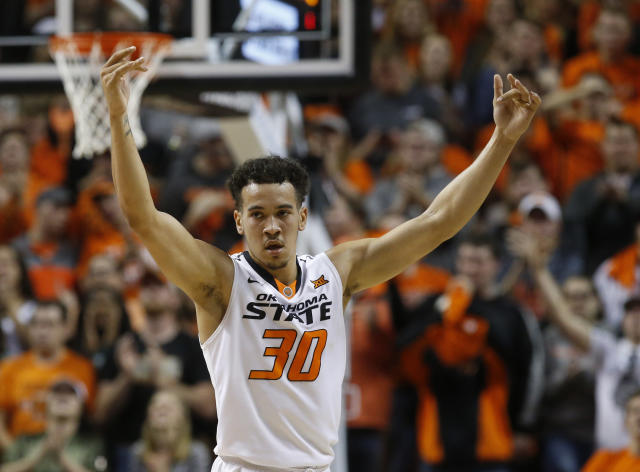 "Oklahoma State will hold out leading returning scorer <a class=""link rapid-noclick-resp"" href=""/ncaab/players/120779/"" data-ylk=""slk:Jeffrey Carroll"">Jeffrey Carroll</a>. (AP)"