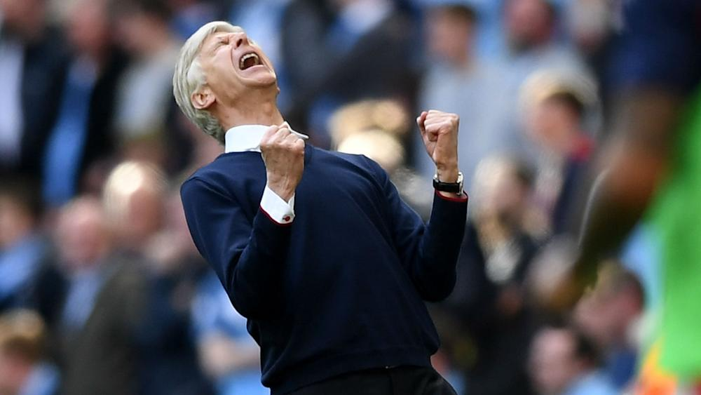 Arsene Wenger Arsenal Manchester City FA Cup